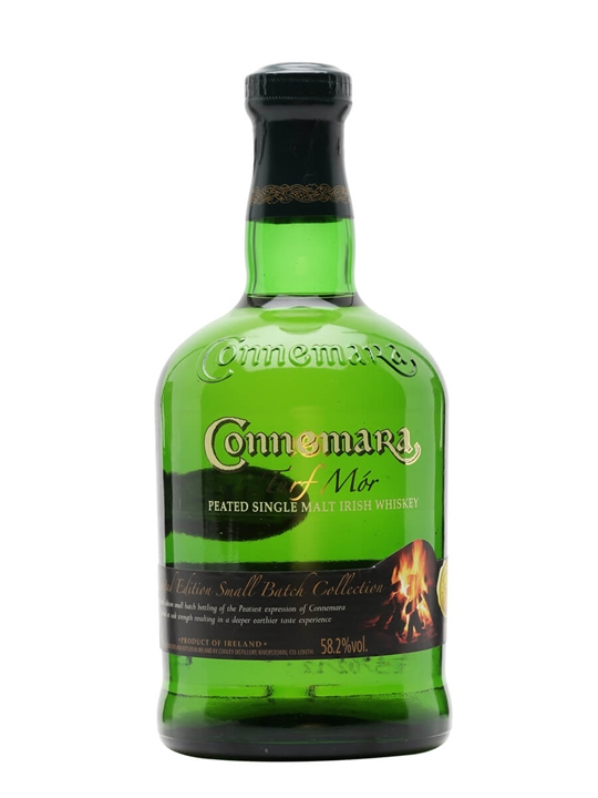 Connemara Turf Mor Small Batch Peated Irish Whisky
