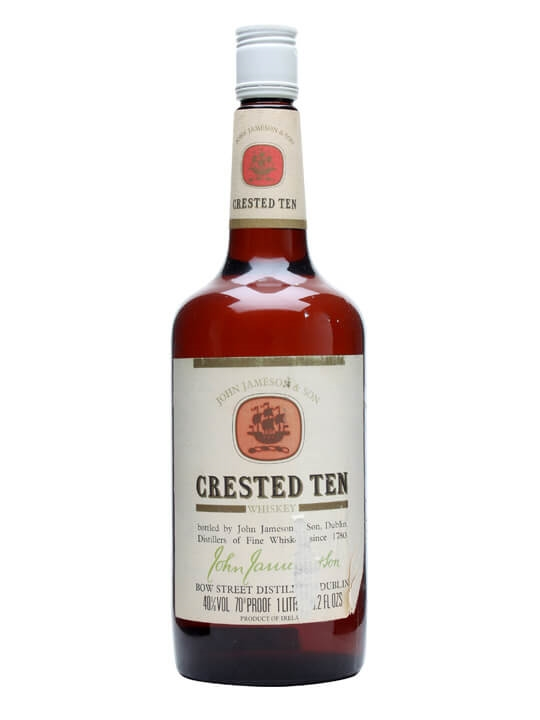 Jameson Crested Ten / Bot.1980s Blended Irish Whiskey