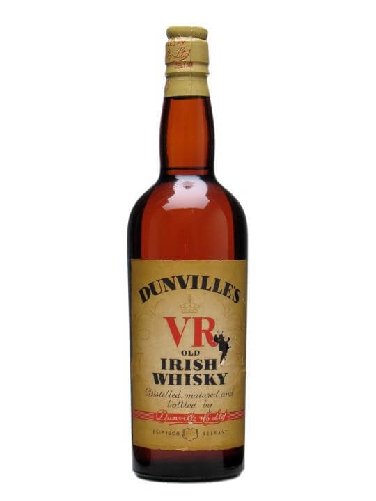 Dunville's Vr / Bot.1930s Single Pot Still Irish Whiskey