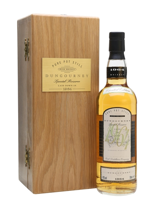 Dungourney 1964 Single Pot Still Irish Whiskey