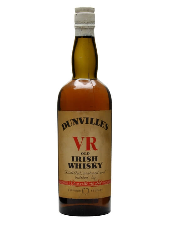 Dunville's Vr Irish Whisky / Bot.1940s