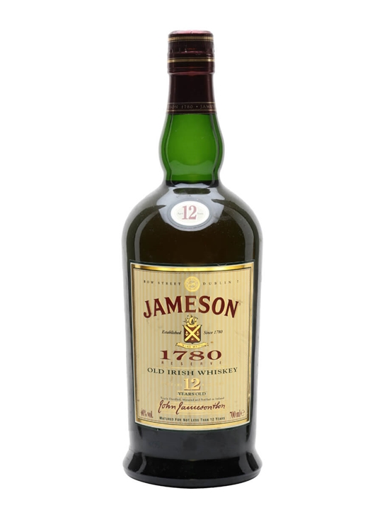 Jameson 1780 / 12 Year Old Blended Irish Whiskey
