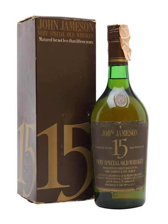 Jameson 15 Year Old Very Special Old Whiskey / Bot.1970s