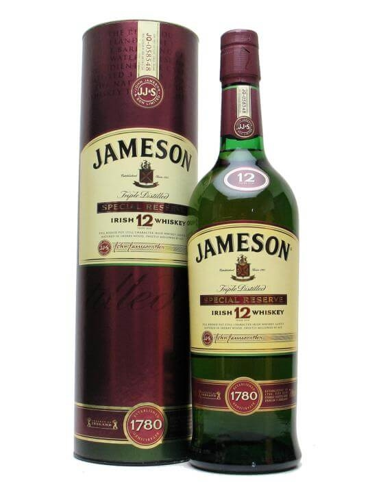 Jameson 12 Year Old / Special Reserve Blended Irish Whiskey