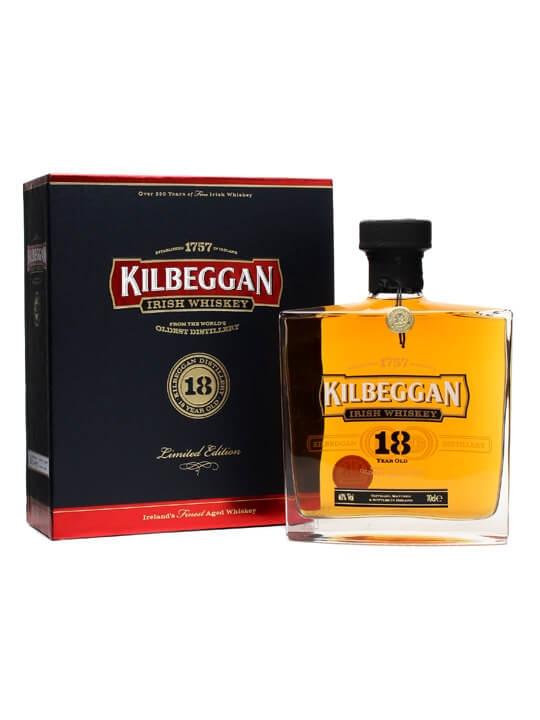 Kilbeggan 18 Year Old Irish Whiskey Blended Irish Whiskey