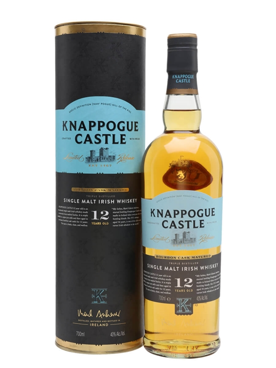Knappogue Castle 12 Year Old Irish Single Malt Whiskey