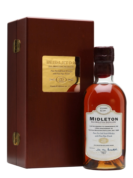 Midleton 26 Year Old / 175th Anniversary Blended Irish Whiskey