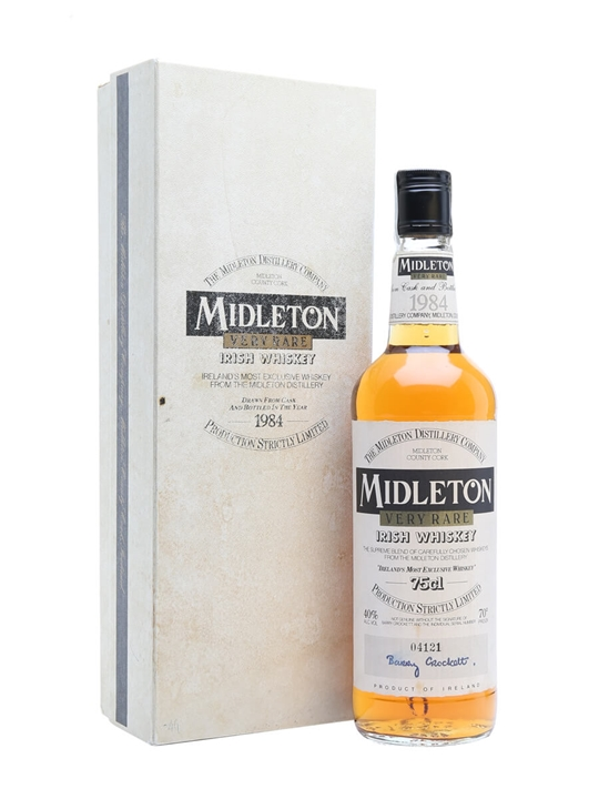 Midleton Very Rare / Bot.1984 / First Release Blended Irish Whiskey
