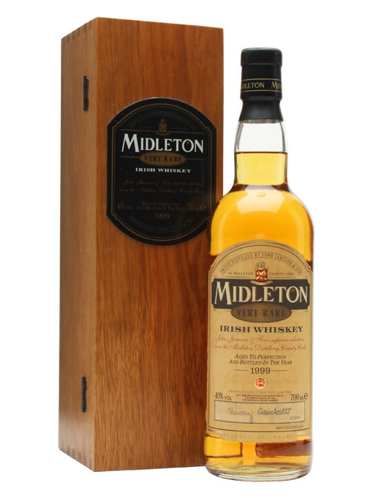 Midleton Very Rare Whiskey / Bot.1999 Blended Irish Whiskey