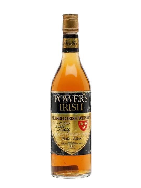 Powers Gold Label / Bot.1980s Blended Irish Whiskey