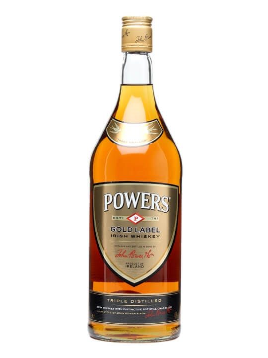 Powers Gold Label Irish Whiskey / 1l Irish Blended Whiskey