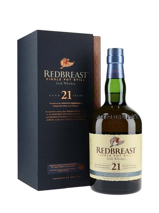 Redbreast 21 Year Old Single Pot Still Irish Whiskey