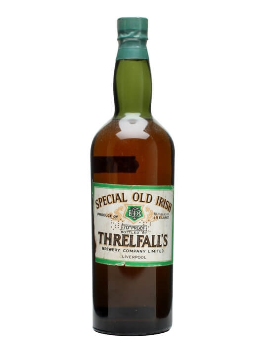 Threlfall's Special Old Irish Whiskey / Bot.1950s