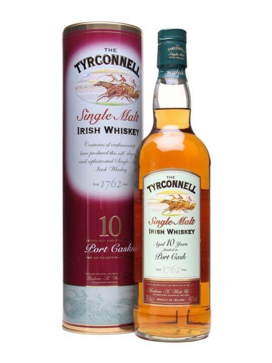 Tyrconnell 10 Year Old / Port Finish Irish Single Malt Whiskey