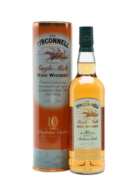 Tyrconnell 10 Year Old / Madeira Finish Irish Single Malt Whiskey