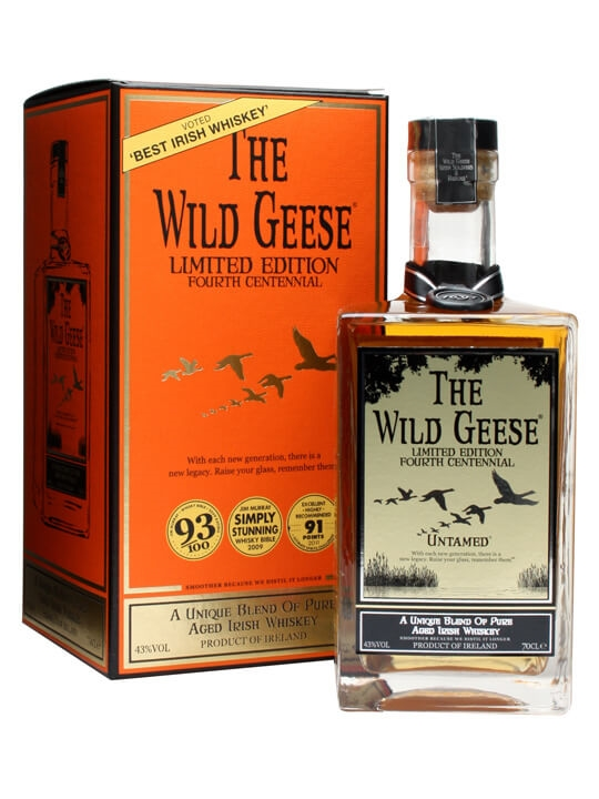 Wild Geese Limited Edition Irish Whiskey Blended Irish Whiskey