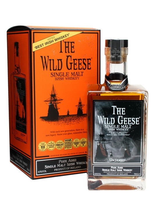 Wild Geese Single Malt Irish Whiskey Irish Single Malt Whiskey