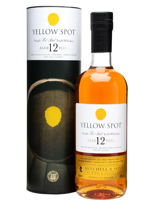 Yellow Spot 12 Year Old Single Pot Still Irish Whiskey