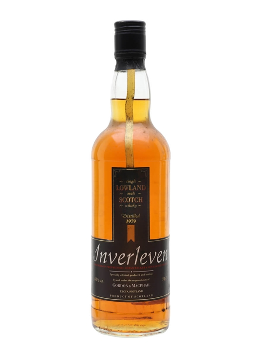Inverleven 1979 / Gordon & Macphail Lowland Single Malt Scotch Whisky