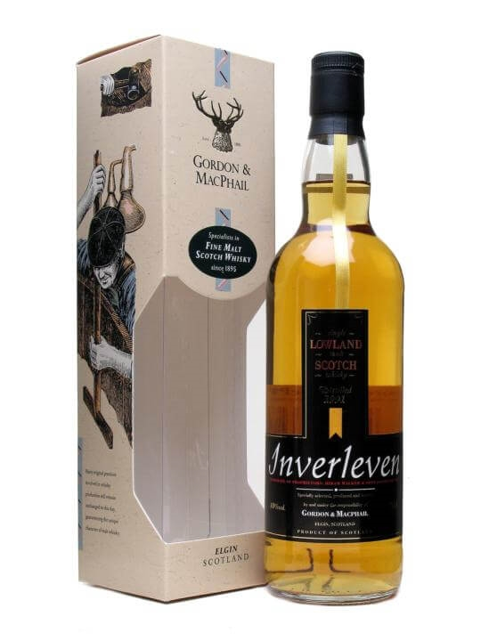 Inverleven 1991 / Gordon & Macphail Lowland Single Malt Scotch Whisky