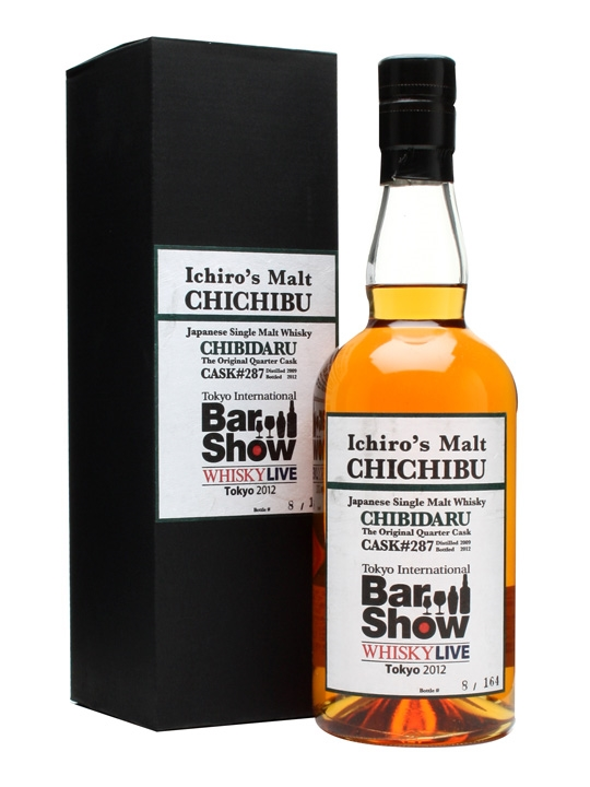 Chichibu 2009 / 3 Year Old / Tibs Chibidaru Cask #287 Japanese Whisky