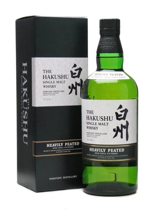 Suntory Hakushu Heavily Peated Japanese Single Malt Whisky