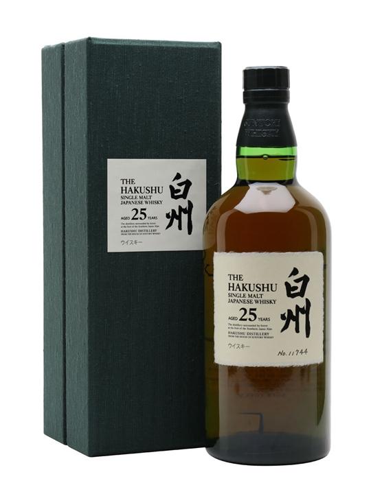 Suntory Hakushu 25 Year Old