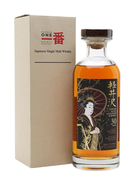 Karuizawa 30 Year Old / Bourbon Cask #8606 Japanese Single Malt Whisky