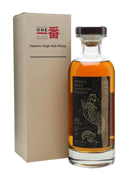 Karuizawa 1982 / First Fill Bourbon Cask #8497 Japanese Whisky
