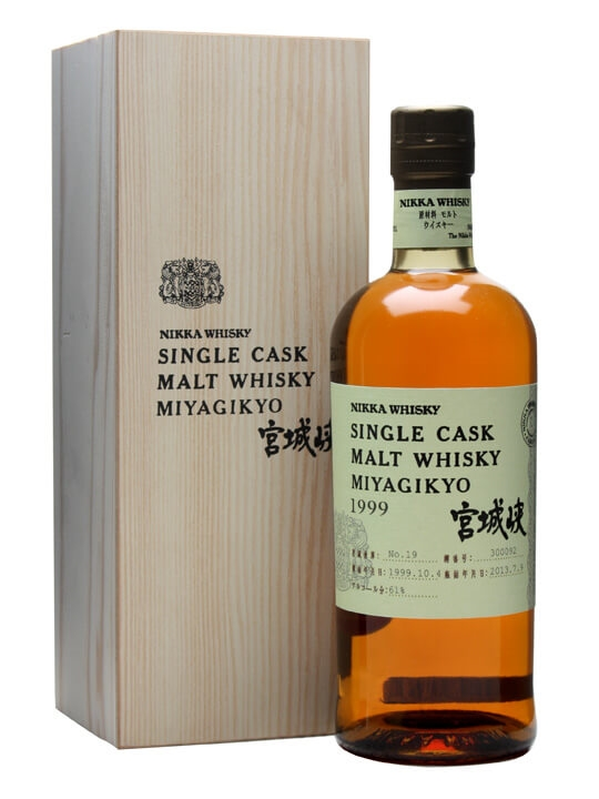 Nikka Miyagikyo 1999 / Cask #300092 Japanese Single Malt Whisky