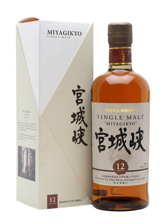 Nikka Miyagikyo 12 Year Old Japanese Single Malt Whisky