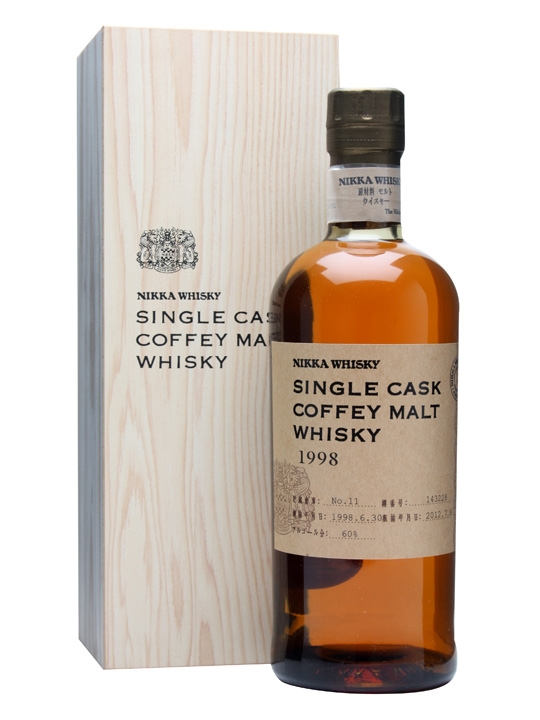 Nikka 1998 Coffey Malt Whisky / Cask #143228 Japanese Whisky