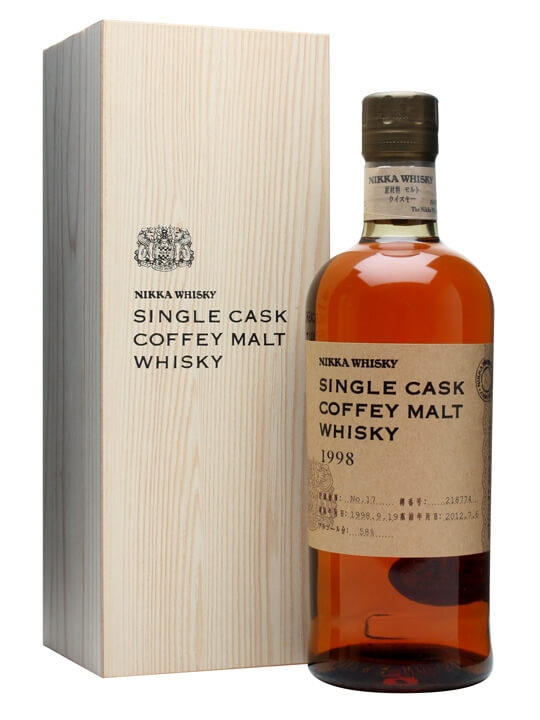 Nikka 1998 Coffey Malt / Cask #218774 Japanese Single Grain Whisky