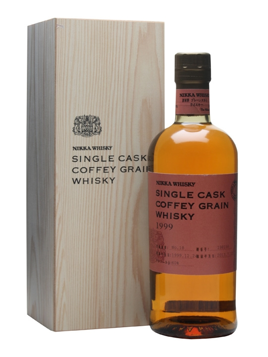 Nikka 1999 / Coffey Grain / Cask #198156 Japanese Single Grain Whisky