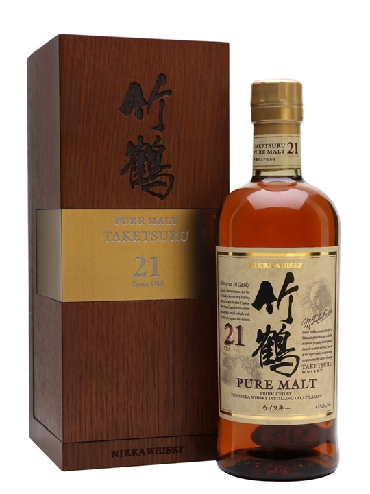 Nikka Taketsuru 21 Year Old Japanese Blended Malt Whisky