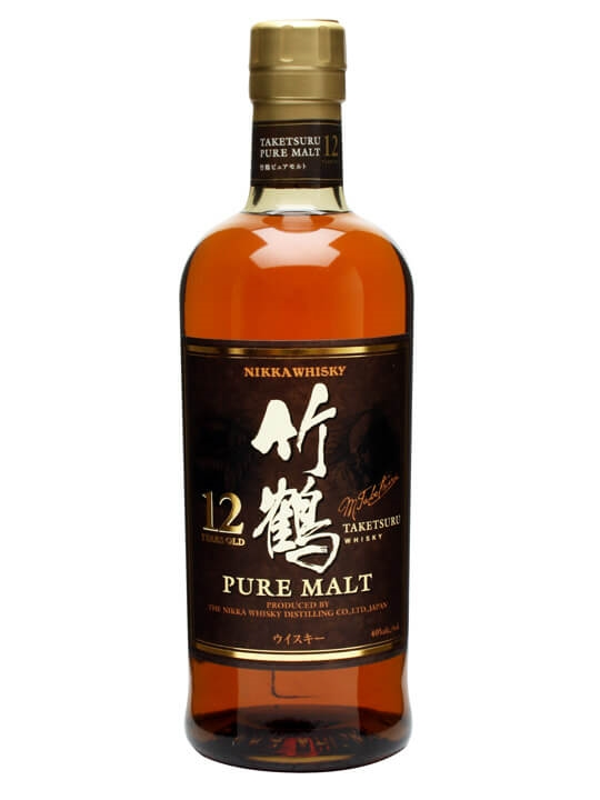 Nikka Taketsuru 12 Year Old Japanese Blended Malt Whisky
