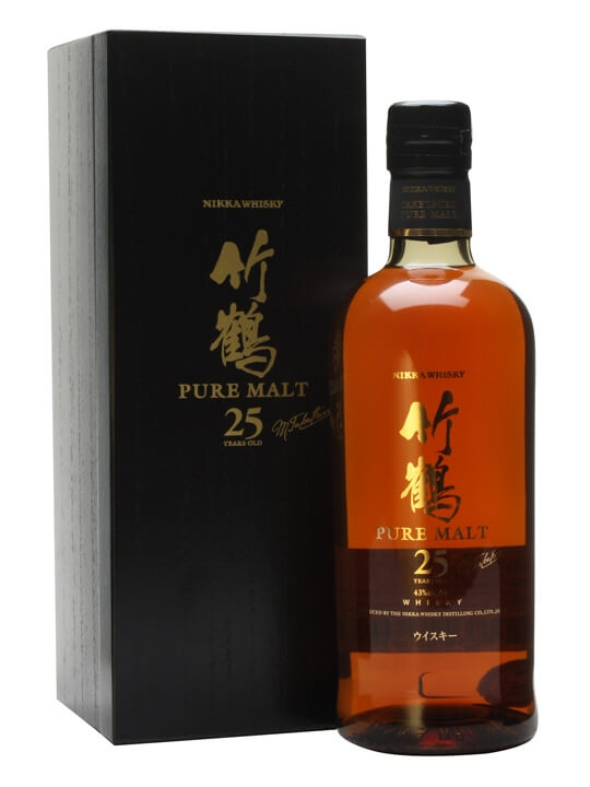 Nikka Taketsuru 25 Year Old / 43% / 70cl / Pure Malt Japanese Whisky