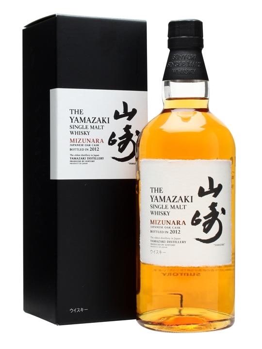 Suntory Yamazaki Mizunara 2012 Japanese Single Malt Whisky