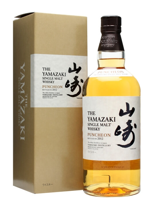 Suntory Yamazaki Puncheon 2012 Japanese Single Malt Whisky