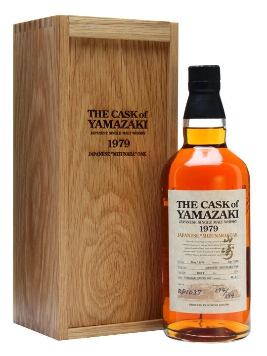 Yamazaki 1979 / 29 Years Old / Mizunara Oak Cask #rf1037 Japanese Whisky