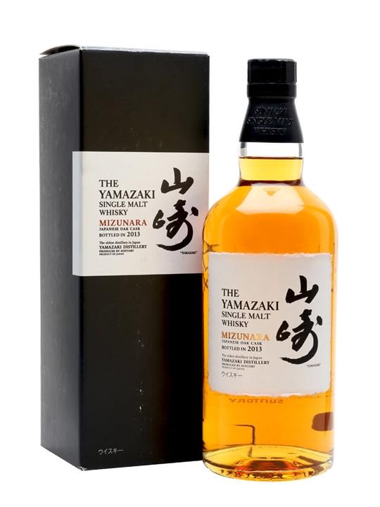 Suntory Yamazaki Mizunara / Bot.2013 Japanese Single Malt Whisky