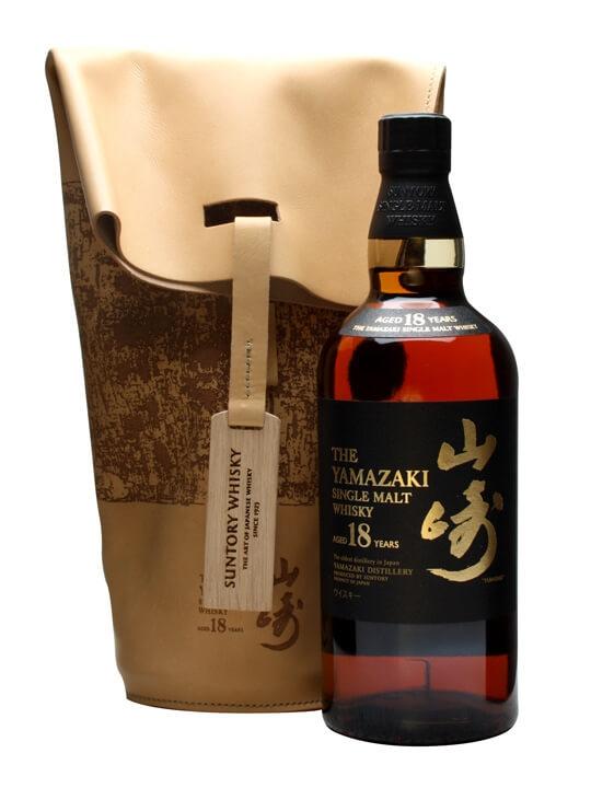 Suntory Yamazaki 18 Year Old / Bill Amberg Bag Japanese Whisky