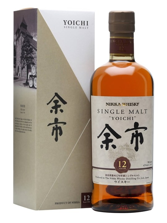 Nikka Yoichi 12 Year Old Japanese Single Malt Whisky