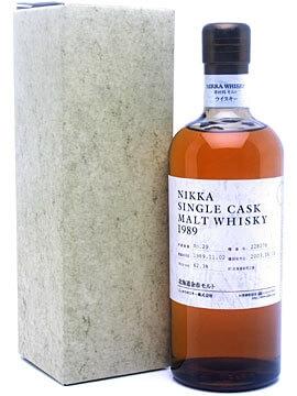 Nikka Yoichi 1989 / Bott 2005 / Cask 127032 Japanese Whisky