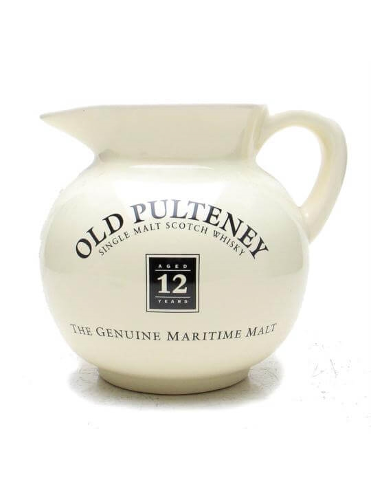 Old Pulteney 12 Year Old / Cream / Round / Medium Jug