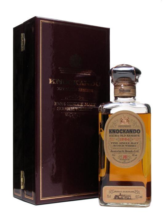 Knockando 1964 Extra Old Reserve / Bot.1986 Speyside Whisky