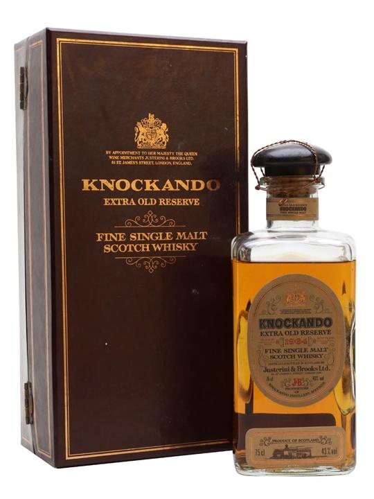 Knockando 1964 Extra Reserve / Bot.1987 Speyside Whisky