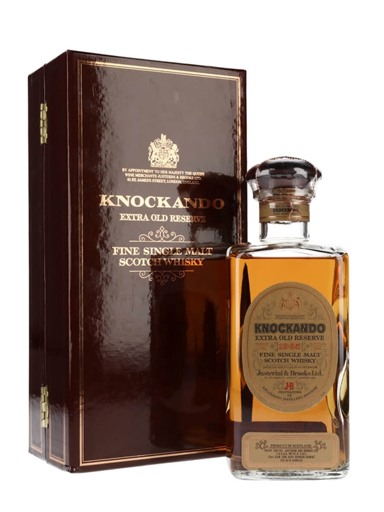 Knockando 1965 Extra Old Reserve Speyside Single Malt Scotch Whisky