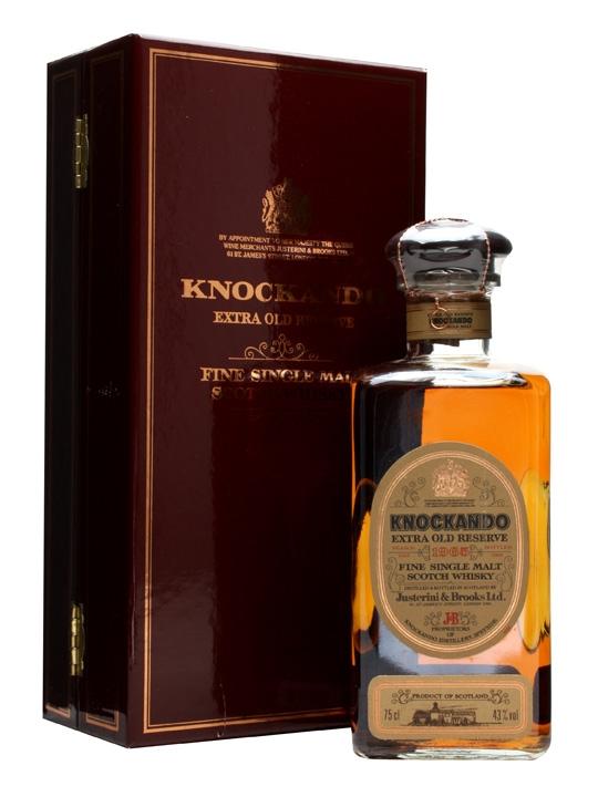 Knockando 1965 Extra Old Reserve / Bot.1989 Speyside Whisky