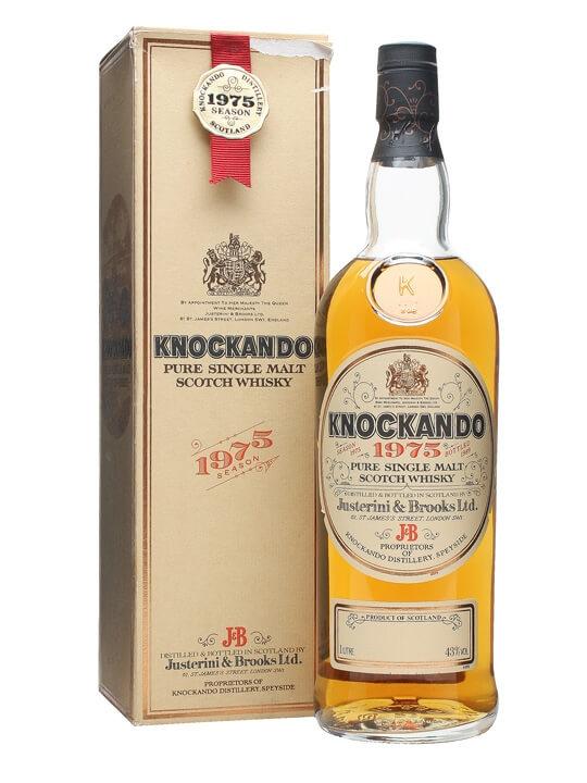 Knockando 1975 / Bot.1989 Speyside Single Malt Scotch Whisky